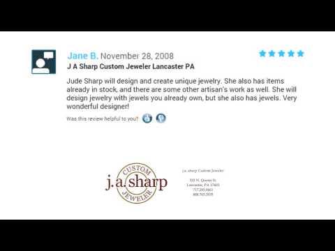 J A Sharp Custom Jeweler  - REVIEWS - Lancaster (PA) Jewelry Store Reviews