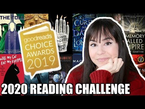 READING CHALLENGE 2020 || Books To Read In 2020 From