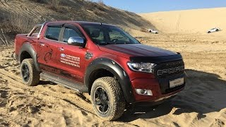 Ford Ranger Limited Predator, adrenalin a Ford Solymártól!