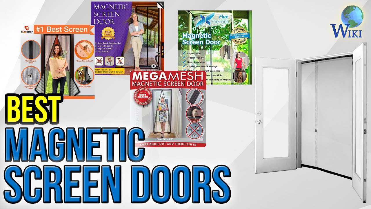 7 Best Magnetic Screen Doors 2017 Youtube