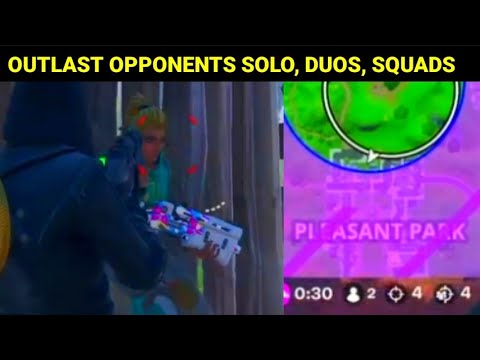 OUTLAST OPPONENTS IN SOLO, DUOS, OR SQUADS FASTEST WAY - Fortnite STRETCH GOALS MISSIONS Easy Guide