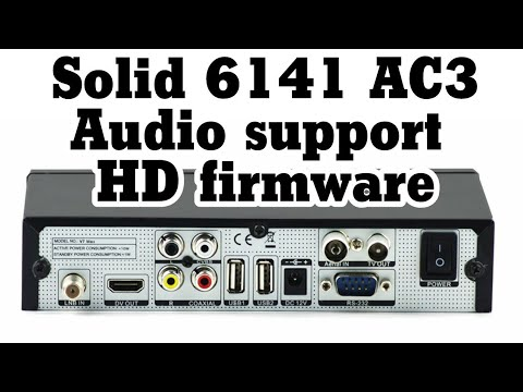 Solid 6141 AC3 Audio Fix With Proof