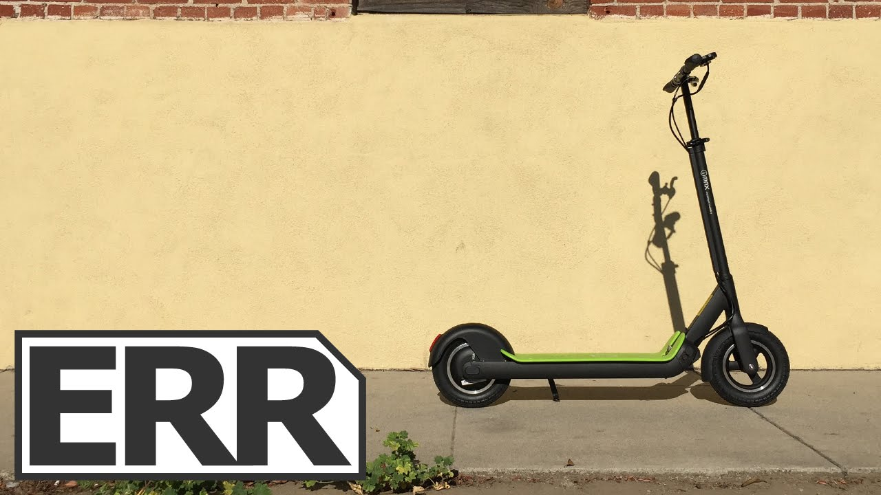 I-MAX S1+ Electric Kick Scooter Review - Electric Ride Reviews
