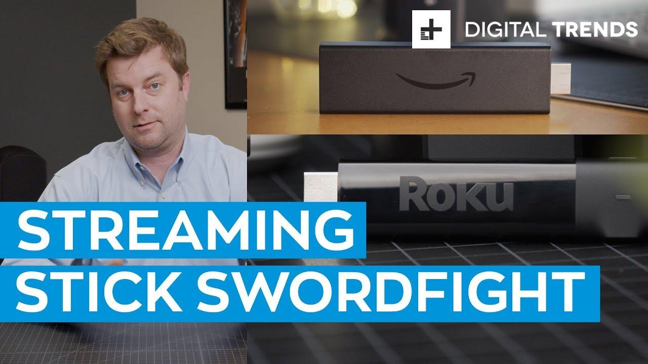 Amazon Fire TV Stick 4K vs  Roku Streaming Stick+