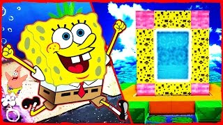 Minecraft SpongeBob - How to Make a Portal to BIKINI BOTTOM