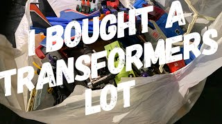 I Bought A Vintage Transformers Toy Lot