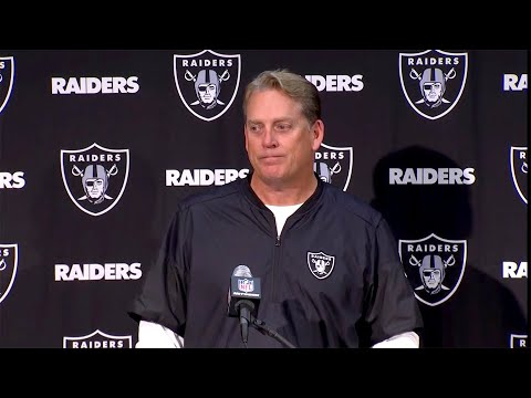 Raiders Post-Game: Coach Del Rio Addresses the Media