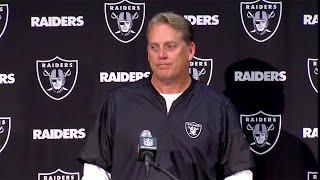 Raiders Post-Game: Coach Del Rio Addresses the Media