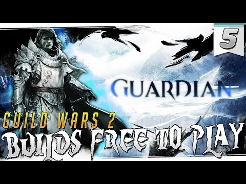 GUILD WARS 2 | BUILDS PVP Free To Play | GUARDIAN | Server Opcional para los nuevos!!