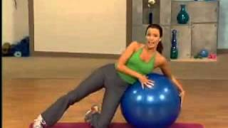 Упражнение для талии и пресса с фитнес мячом(Упражнение для талии и пресса с фитнес мячом., 2011-01-16T11:20:50.000Z)