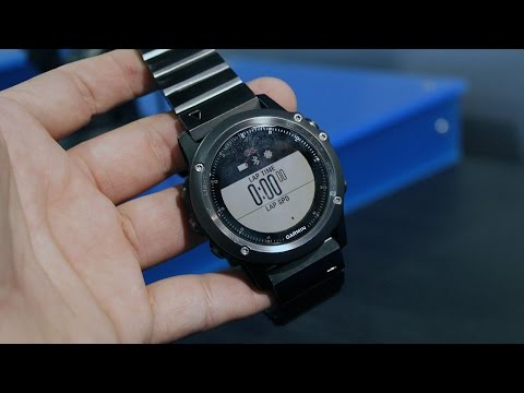 Fenix Chronos The Refined Gps Timepiece For A Life Wit Doovi