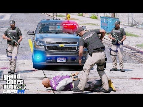 GTA 5 LSPDFR #637 - JUMP OUT BOYS - GANG UNIT