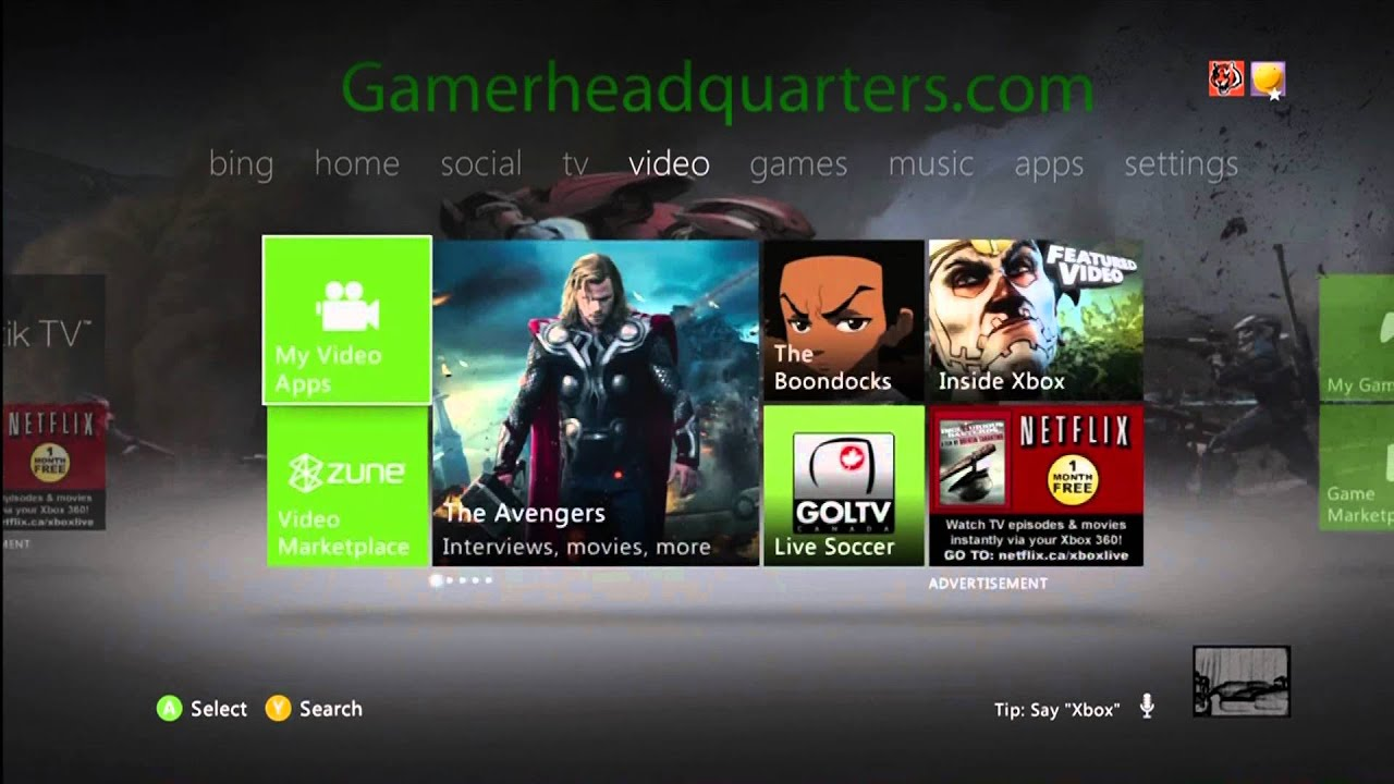 how to put custom xbox dashboard background