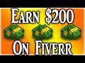 Earn $200 Per Day From Fiverr (Without Doing The Work)