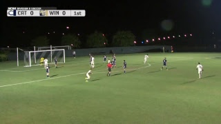 2017 NCAA Men's Soccer - Catawba vs Wingate