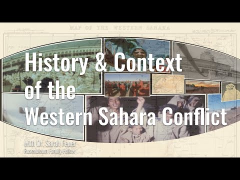 History and Context of the Western Sahara Conflict