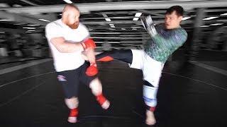 Тренер показал Дацику как нужно драться / Трансформация Дацика #3