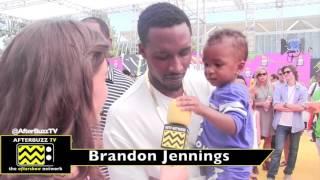 Kids Choice Sports Awards interview with Brandon Jennings