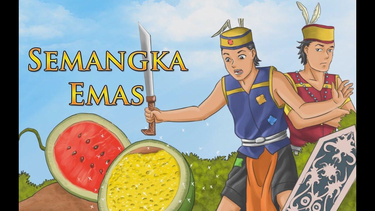Dongeng Semangka Emas Dongeng Indonesia TV Anak Indonesia YouTube