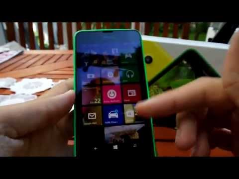 Nokia Lumia 630 Windows Phone 8.1 bemutató videó