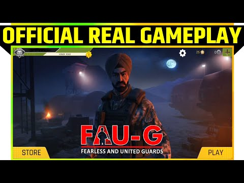 FAU-G | FAUG Real Gameplay with …