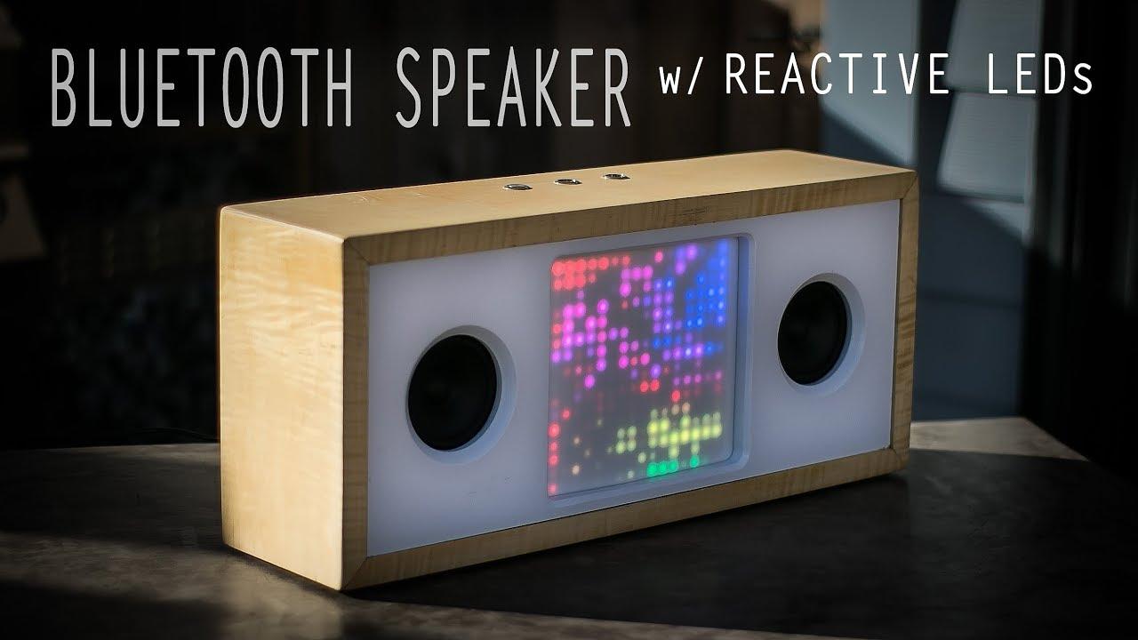 Bluetooth Speaker w/ Music-Reactive LED Matrix - Arduino Project Hub