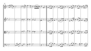 Wagner Bridal Chorus Wedding March | String Quartet Sheet Music