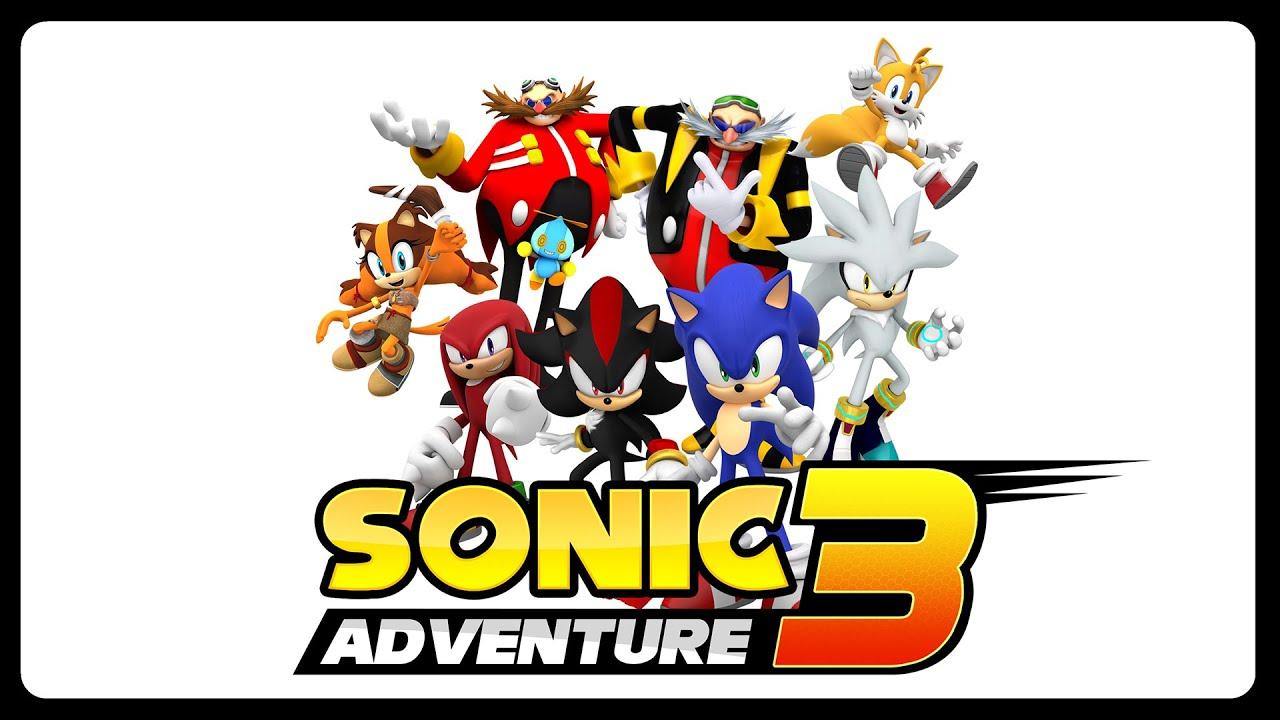 Sonic Adventure 3 - Demo (1080p/60fps) #chillthisisafangameokay
