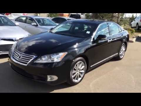 pre owned black 2011 lexus es 350 4dr sdn fwd touring. Black Bedroom Furniture Sets. Home Design Ideas