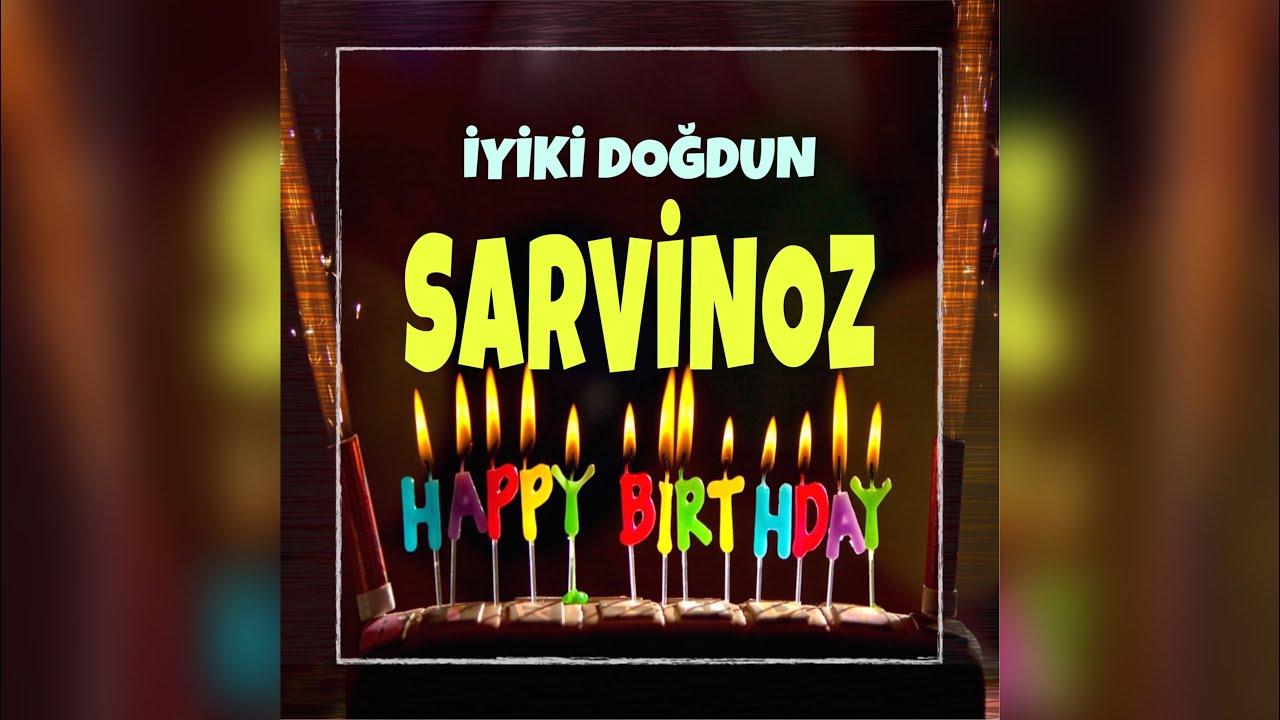 İyi ki doğdun Mutlu Yıllar Sana - isme özel doğum günü şarkısı