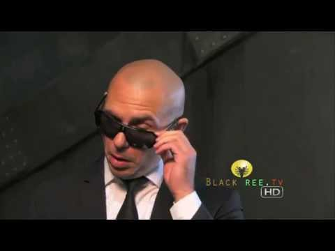 Rapper Pitbull talks about working with Will Smith