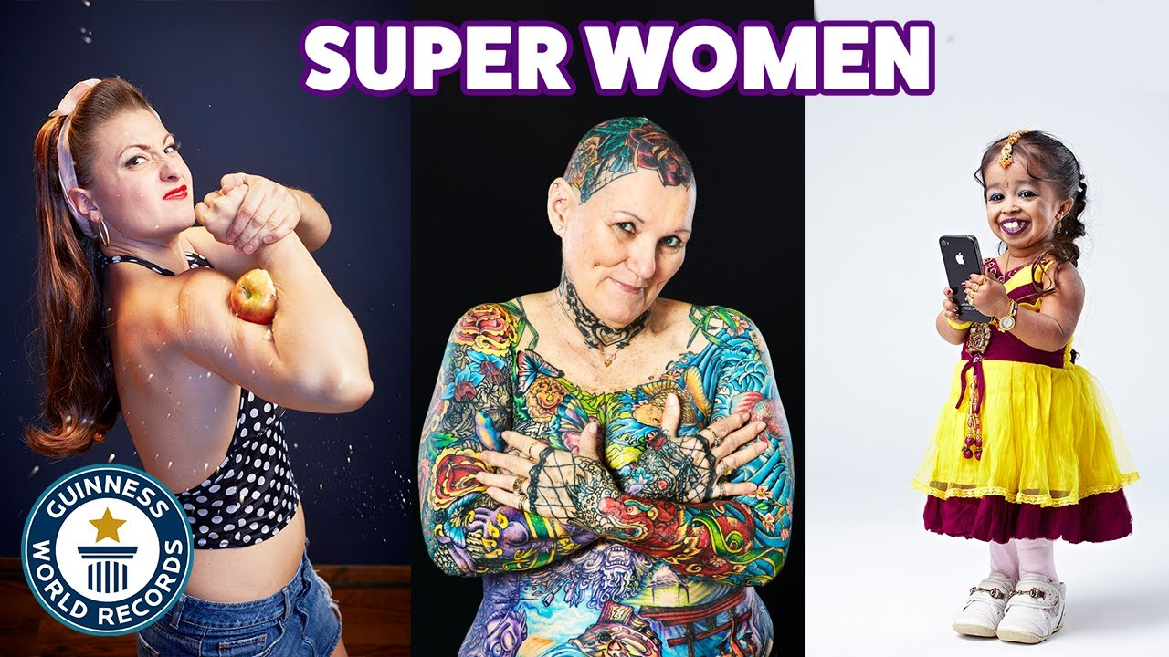 Download Record-breaking super women - Guinness World Records