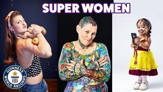 Record-breaking super women - Guinness World Records