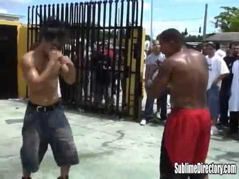 The best Street fight! Los mejores peleas!!