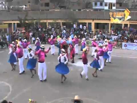 CARNAVAL DE SANTIAGO DE CHOCORVOS - HUANCAVELICA - CESAR VALLEJO CONCURSO MUNAYMARKA 2012 - TIKARY
