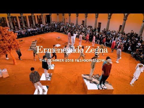 Sketches from a Hidden Garden: The Ermenegildo Zegna Couture Summer 2018 Fashion Show.