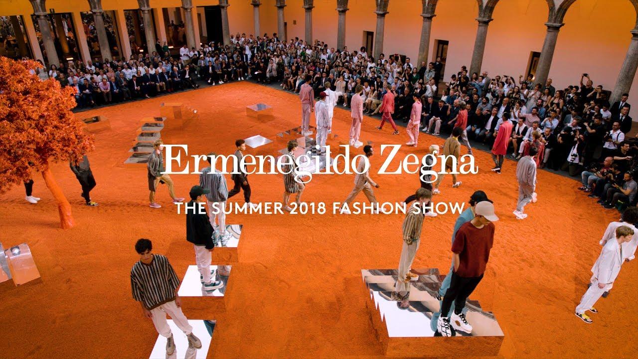 Sketches from a Hidden Garden  The Ermenegildo Zegna Couture Summer 2018  Fashion Show. 432b1c2de90