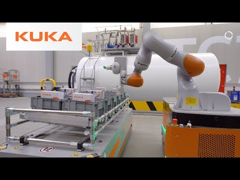KUKA Mobile Robotics Tech Center Bavaria, Germany - Walkthrough