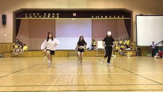 강일여자고등학교 댄스동아리 아이 체육대회 공연