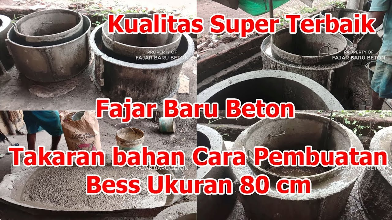 Takaran bahan Cara Pembuatan Bess, Hong, Gorong-gorong Ukuran 80 cm dalam kualitas terbaik - YouTube