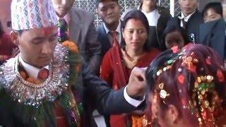 Wedding Ceremony of Buddha Laxmi Shrestha with Ishwor Shrestha