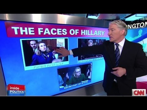 Inside Politics: The many faces of Hillary Clinton