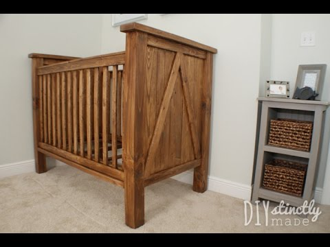 How To Make Wooden Baby Crib Youtube