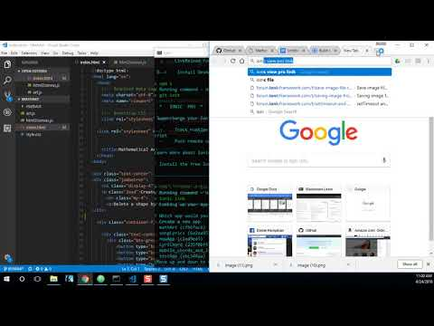 Creating an art generating web app and converting it to a cross platform Ionic mobile app: Part 3