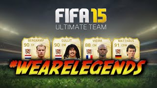 #FUT15 - We are Legends !
