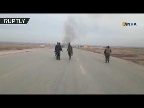 Attack on US-Kurdish convoy in Syria, 5 reportedly killed