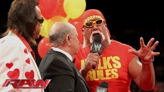"""Mean"" Gene Okerlund introduces Hulk Hogan: Raw, Aug. 11, 2014"
