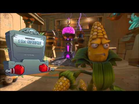 Plants Vs Zombies Garden Warfare  Beta Gameplay Gardens And Graveyards In Seeds Of Time