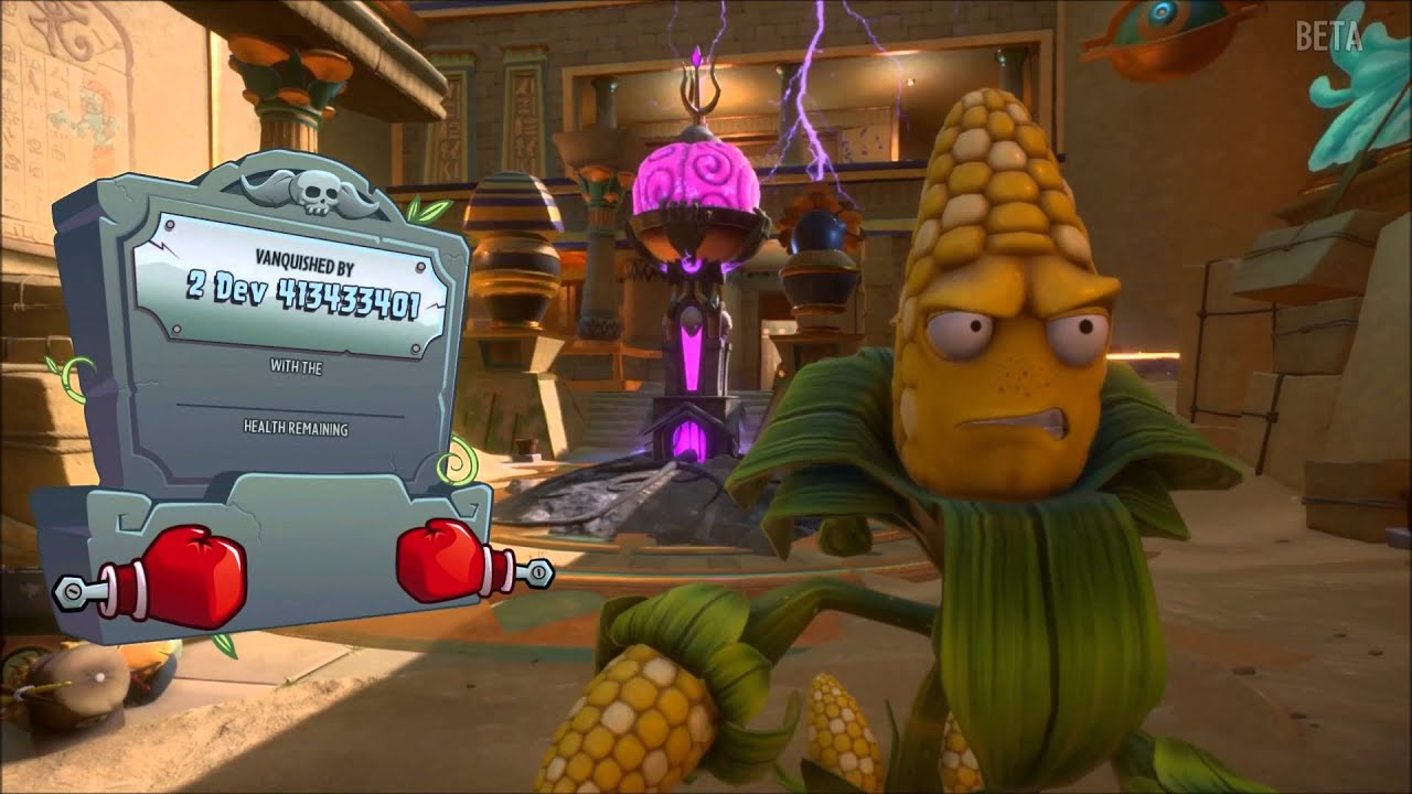 Plants vs Zombies: Garden Warfare 2 - Beta Gameplay - Gardens and ...