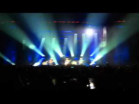 """Volbeat live at Antwerp killer stage entrance! """"The Mirror and the Ripper"""" 2010-11-12 [HQ]"""